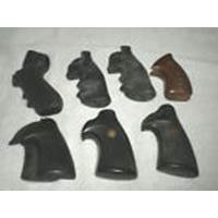 Lot of Revolver Grips - Rubber Pachmayr, RG Wood, 2 Hogue Monogrips, Ruger, S&W